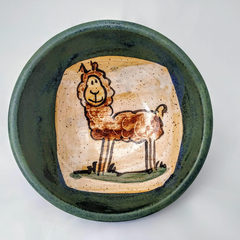 Kinderschale Lama